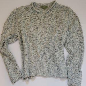 """Carolyn Taylor""  Size L Grayish Blue Sweater"